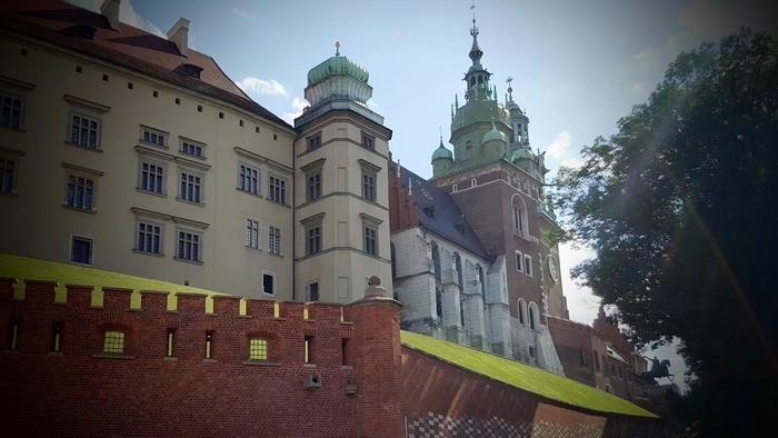 The photography of Wawel - Royal Castle in Cracow