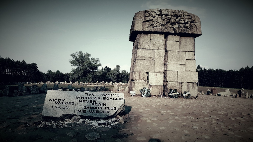 Treblinka - a Death Complex Tour from Warsaw. Photo: Monument in Treblinka