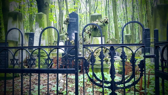 Photography of Jewish Cemetery in Warsaw