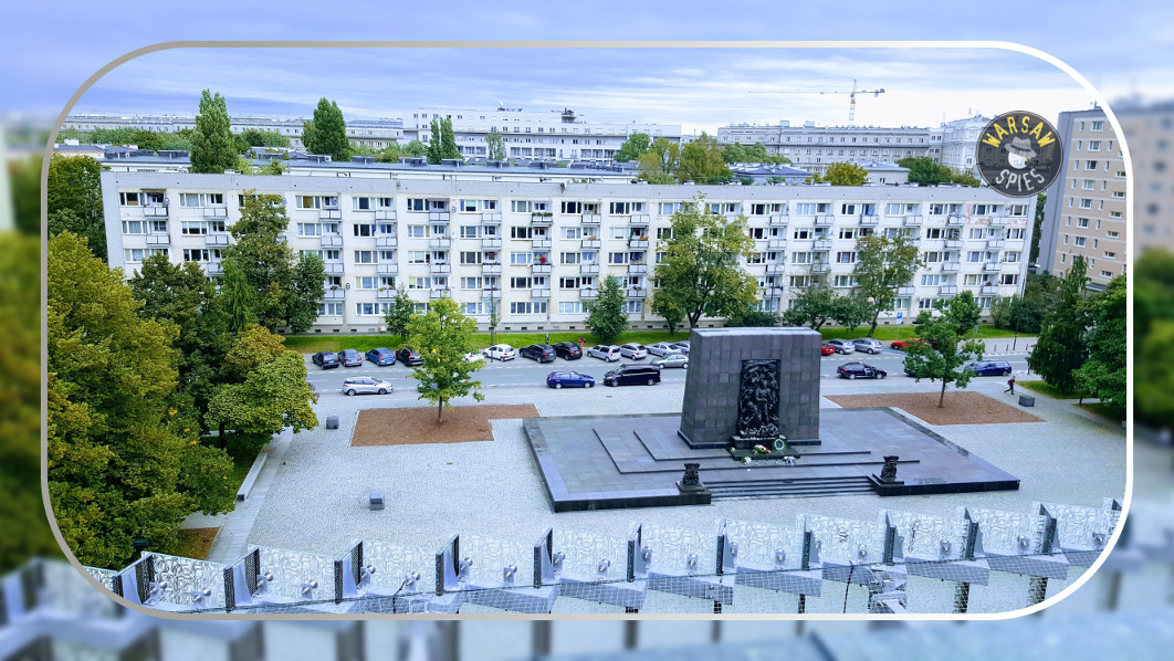 Warsaw, Monument to the Ghetto Heroes