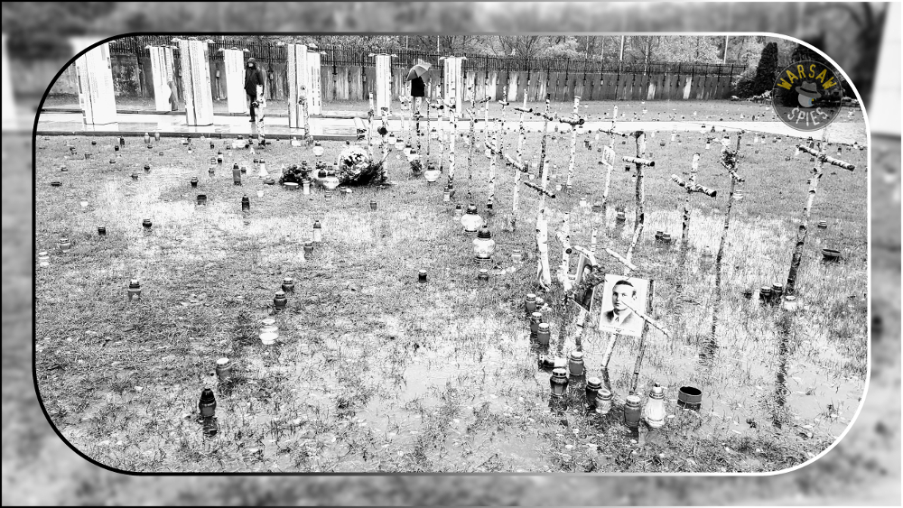 Warszawa, Powązki Military Cemetery, Łączka Quarter