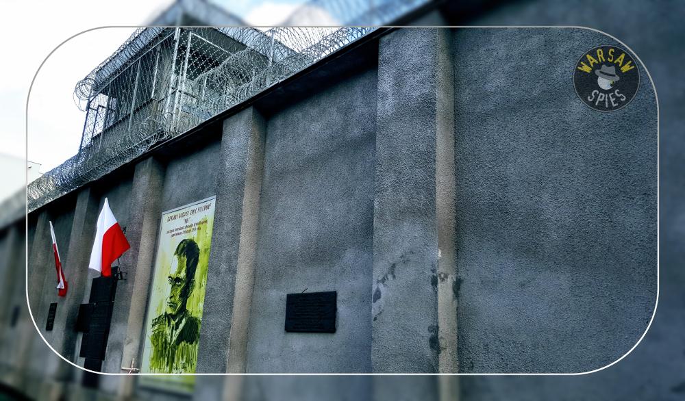 """Warsaw, Rakowiecka prison, """"Polish Lubianka"""""""