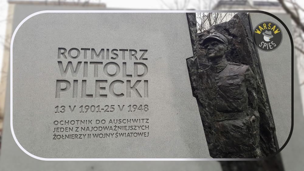 Witold Pilecki Monument, Wojska Polskiego Avenue, Warsaw